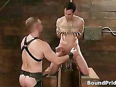 Jason Dirk in very extreme gay bondage part2