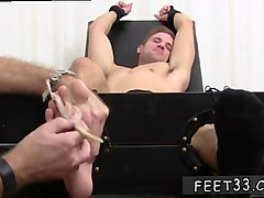 ugly twink worships and tickles amazing feet