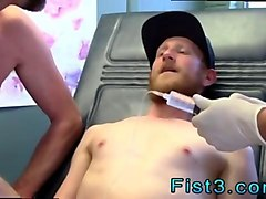 ugly ginger twink gets his ass fist fucked hard